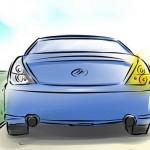 Lùi xe đúng cách cho người mới lái